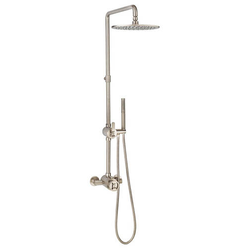 Additional image for Thermostatic Multifunction Shower Set (B Nickel).