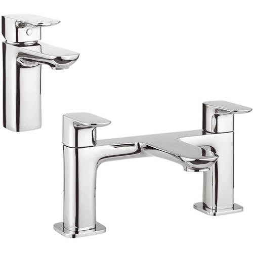Additional image for Basin & Bath Tap Pack (Chrome).