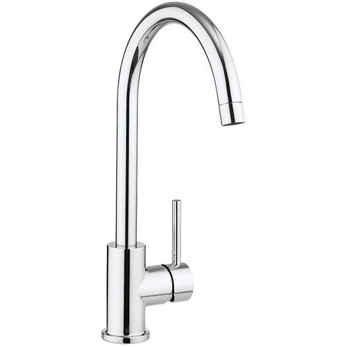 Additional image for Tropic Side Control Kitchen Tap (Chrome).