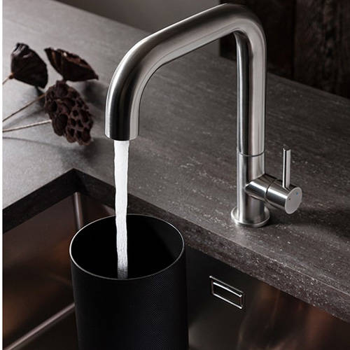 Additional image for Tube Side Control Kitchen Tap (Stainless Steel).