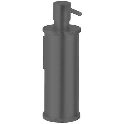 Additional image for Soap Dispenser (Brushed Black).