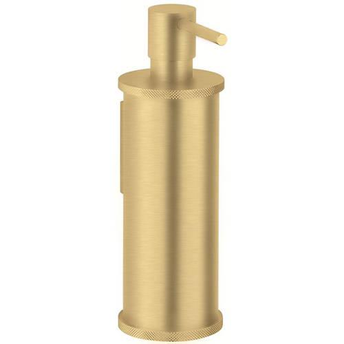 Additional image for Soap Dispenser (Brushed Brass).