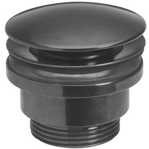 Additional image for Click Clack Basin Waste (Brushed Black).