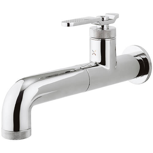 Additional image for Single Hole Wall Mounted Basin Mixer Tap (Chrome).