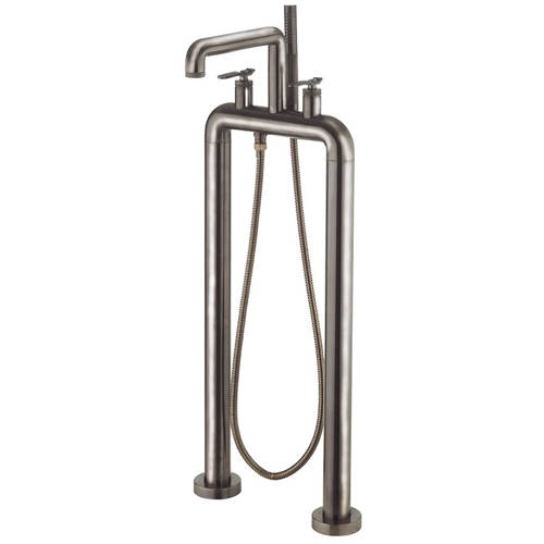 Additional image for Free Standing BSM Tap With Lever Handles (B Black).