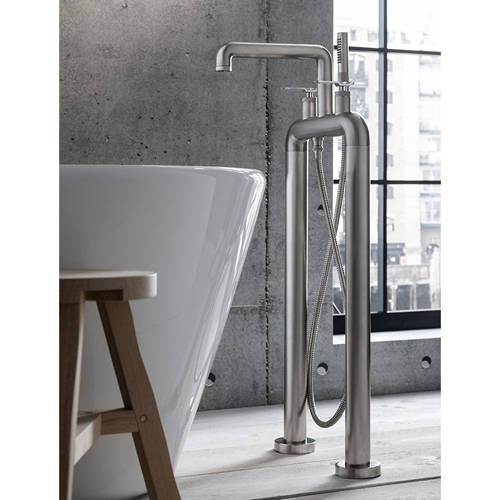 Additional image for Free Standing BSM Tap With Lever Handles (B Nickel).