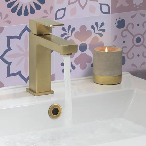 Additional image for Basin & Bath Filler Tap Pack (Brushed Brass).
