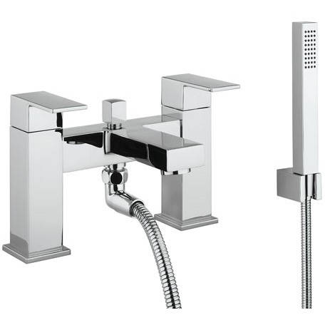 Additional image for Bath Shower Mixer Tap & Kit (Chrome).