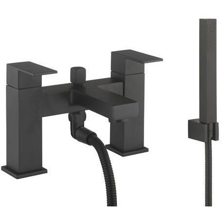 Additional image for Bath Shower Mixer Tap & Kit (Matt Black).