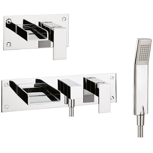 Additional image for Wall Mounted Basin & BSM Tap Pack.