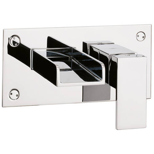 Additional image for Wall Mounted Basin Tap (Chrome).