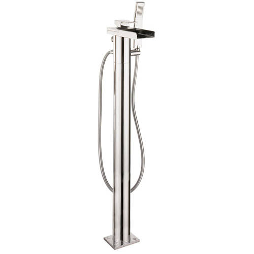 Additional image for Floor Standing Bath Shower Mixer Tap (Chrome).