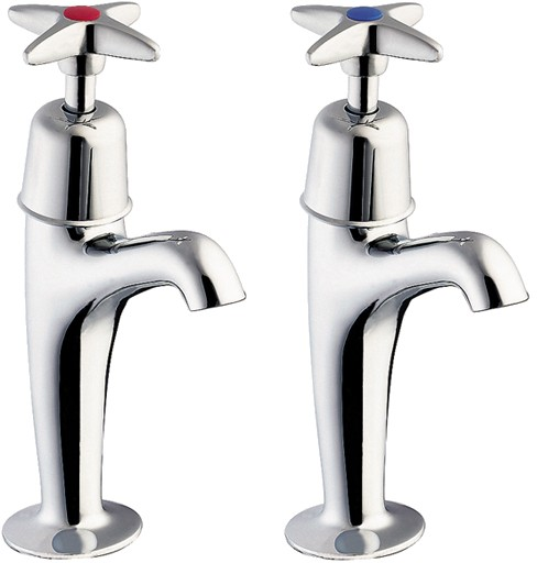 Additional image for High Neck Sink Taps (Pair).