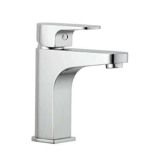 Additional image for Mini Basin Mixer Tap With Clicker Waste (Chrome).