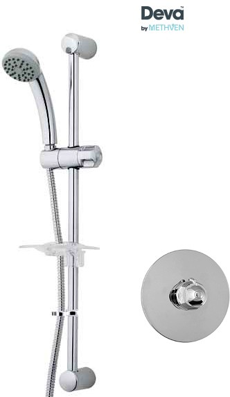 Additional image for Concealed Thermostatic Shower Valve With Single Mode Kit.