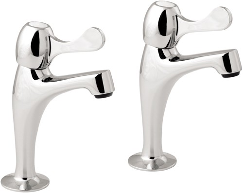 Additional image for Lever High Neck Sink Taps (Pair).
