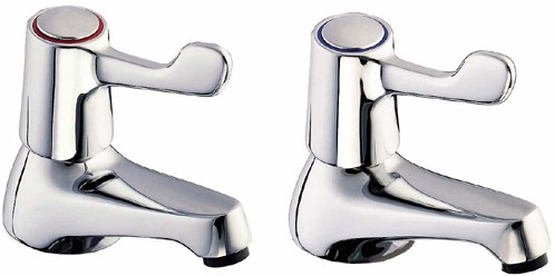 """Additional image for 3"""" Lever Bath Taps (Pair)."""