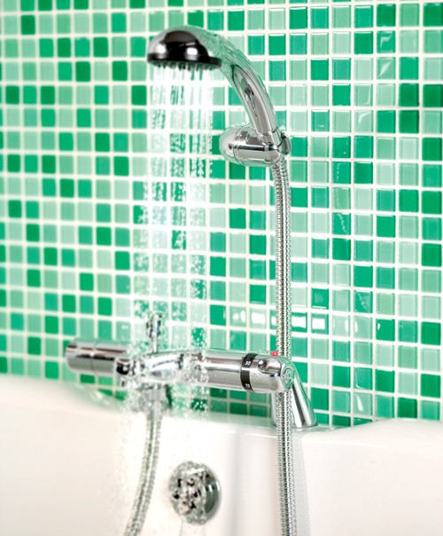 Additional image for Dynamic Thermostatic Bath Shower Mixer With Shower Kit.