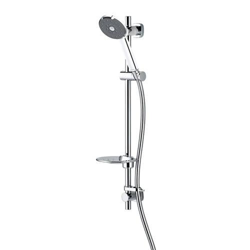 Additional image for Satinjet Kiri Easy Fit Shower Kit (Chrome).