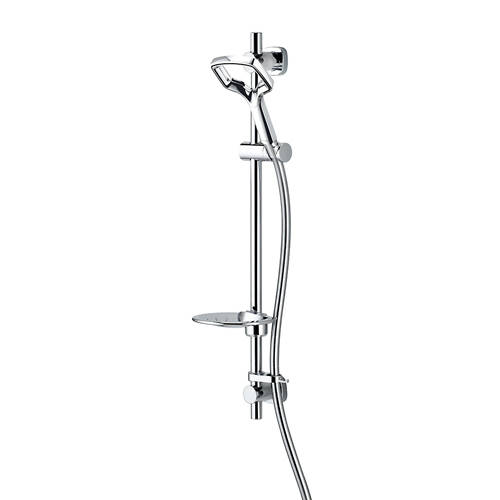 Additional image for Aurajet Rua Easy Fit Shower Kit (Chrome).