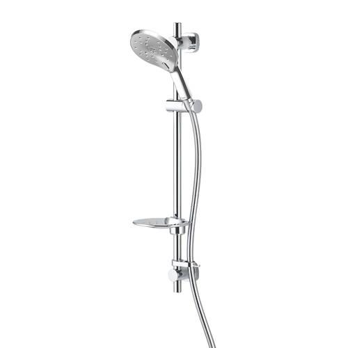 Additional image for Kaha Easy Fit Shower Kit (Chrome).