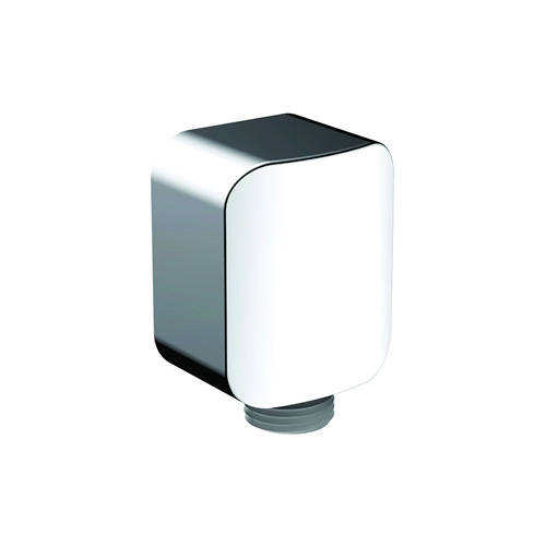 Additional image for Square Wall Outlet (Chrome).