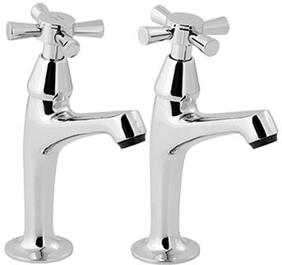Additional image for Milan High Neck Sink Taps (Pair)