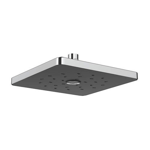Additional image for Satinjet Square Shower Head 230x230mm (Chrome & Graphite).