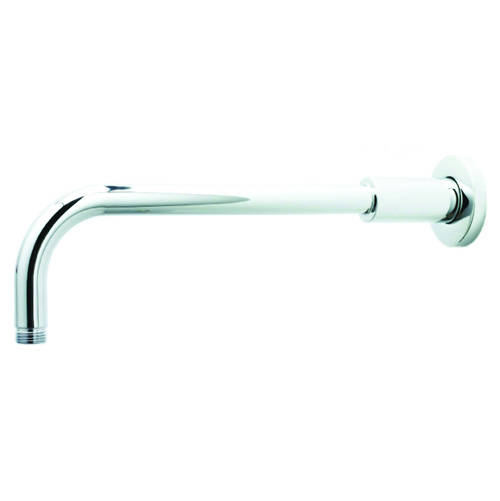 Additional image for Wall Mounted Shower Arm 330mm (Chrome).