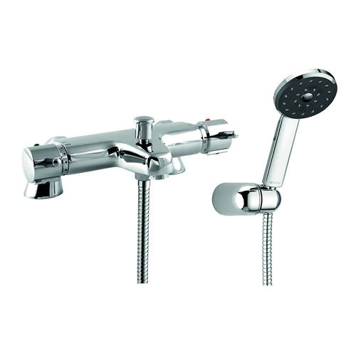 Additional image for Thermostatic Bath Shower Mixer Tap With Shower Kit.
