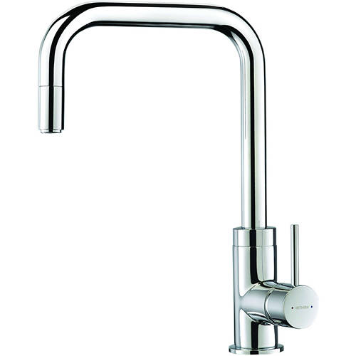Additional image for Urban Pull Out Mixer Kitchen Tap (Chrome).