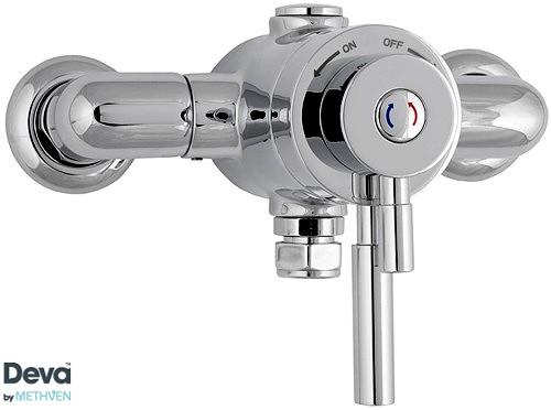 Additional image for Exposed Thermostatic Shower Valve, Multi Mode Kit & Regulator.