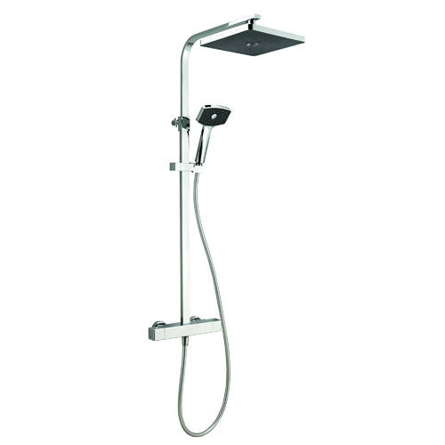 Additional image for Waipori Cool To Touch Thermostatic Bar Shower Pack (Chrome).