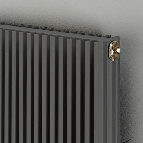 Additional image for Vertical Aluminium Radiator 1526x560 (Window Grey).