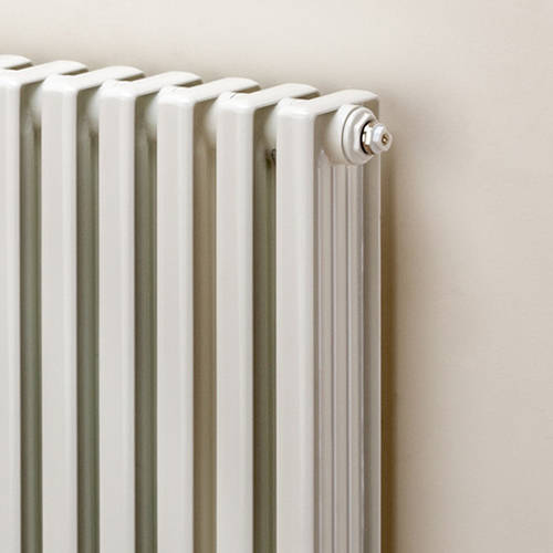 Additional image for Horizontal Aluminium Radiator 668x1020 (White).
