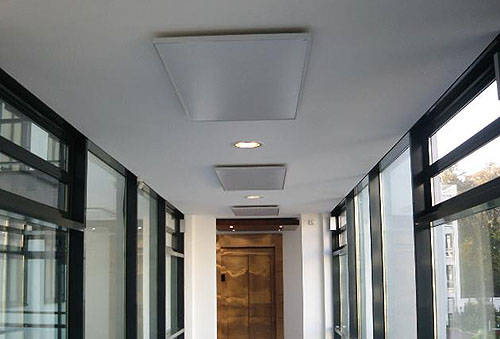 Additional image for Ceiling Mounting Kit For Infrared Radiators.