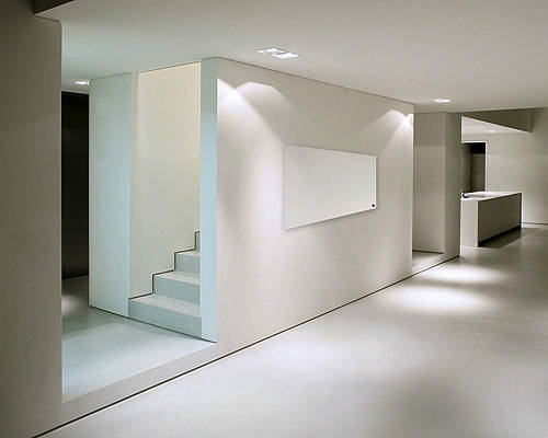 Additional image for White Glass Panel 600x1200mm (800w).