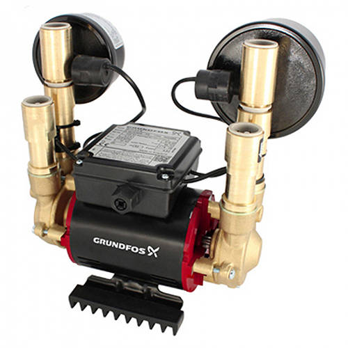 Additional image for STN-4.0B Twin Ended Shower Pump (4.0 Bar, Universal).