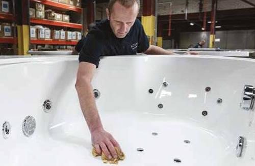 Additional image for Orlando LH Corner Whirlpool Bath With 24 Jets & Panel, 1500x1040.