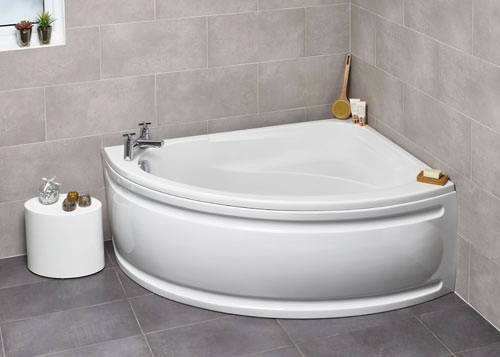 Additional image for Orlando RH Corner Whirlpool Bath With 8 Jets & Panel, 1500x1040.