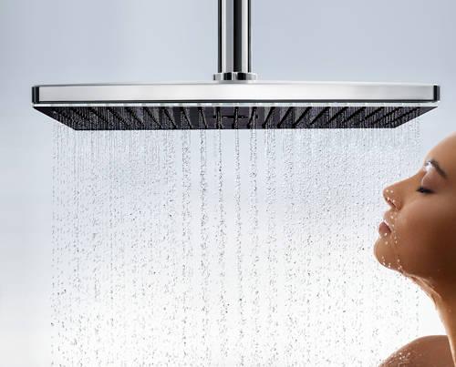 Additional image for Rainmaker Select 460 2 Jet Shower Head (Black & Chrome).