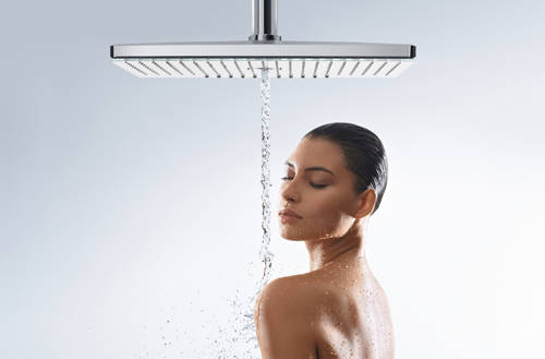 Additional image for Rainmaker 3 Jet EcoSmart Shower Head (460x300, White & Chrome).
