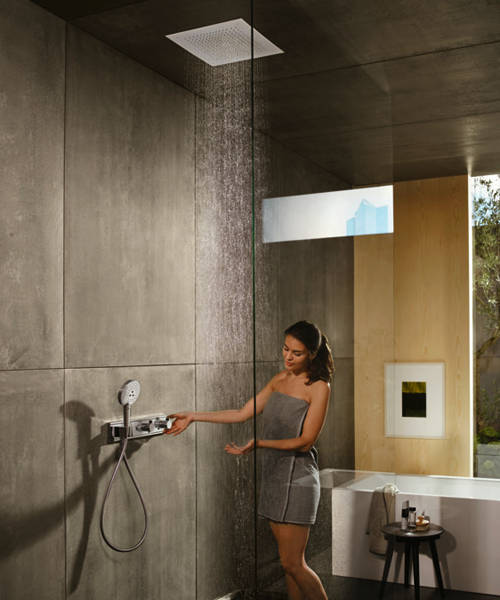 Additional image for Raindance E Air 1 Jet Shower Head (400x400mm, Chrome).