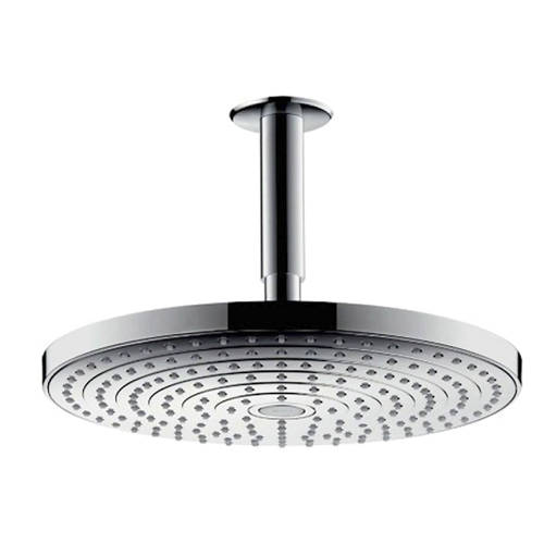 Additional image for Raindance S 240 2 Jet Eco Shower Head & Arm (240mm, Chrome).