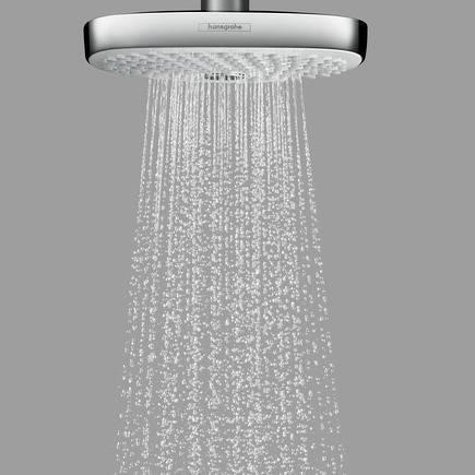 Additional image for Croma Select E 180 2 Jet Eco Shower Head (White & Chrome).