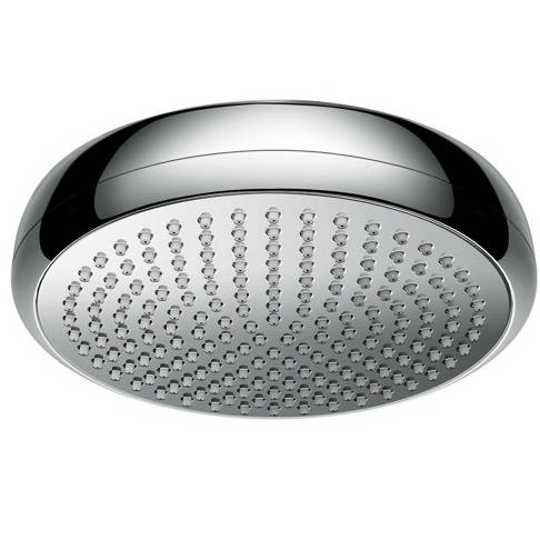 Additional image for Crometta 180 1 Jet EcoSmart Shower Head (180mm, Chrome).