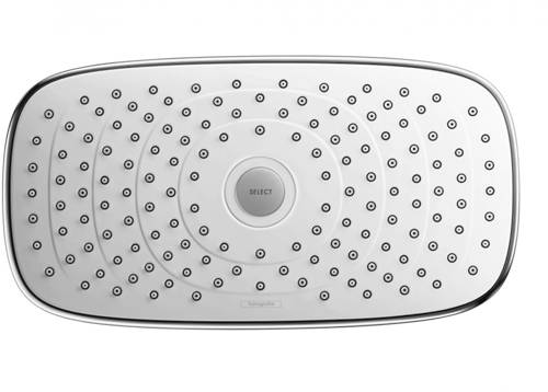 Additional image for Raindance E 300 2 Jet Eco Shower Head (300x160mm, Chrome).