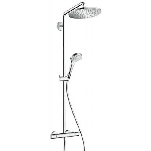 Additional image for Croma Select S 280 Showerpipe Pack With (Chrome).