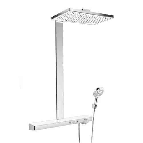 Additional image for Rainmaker Select 460 2 Jet Shower Pack (White & Chrome).