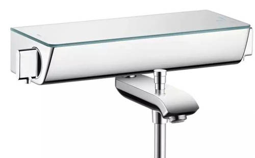 Additional image for Raindance Select E 360 1 Jet With Bath Filler Spout (Chrome).